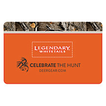 Legendary Whitetails Gift Card at Legendary Whitetails