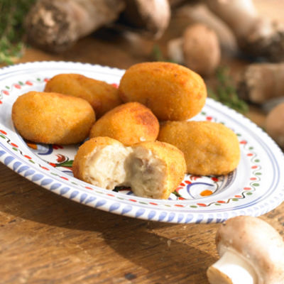 2 Packages of Croquetas de Hongos - Boletus Mushroom Croquettes