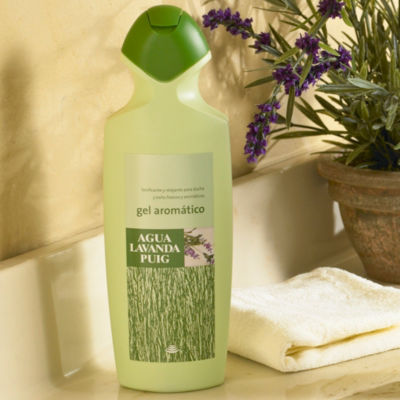 2 Bottles of Lavanda Puig Shower Gel