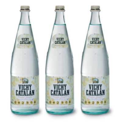 3 Bottles of Vichy Catalan Sparkling Spring Water