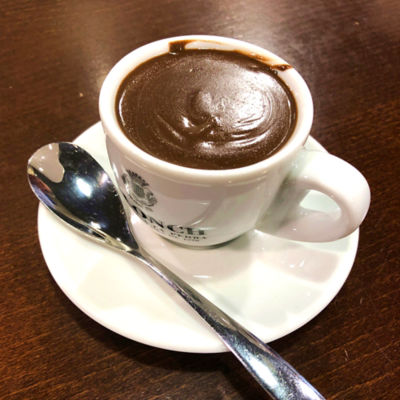 Thick Taza Hot Chocolate by Jolonch
