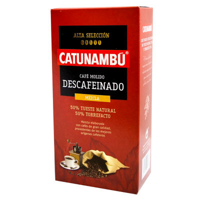 2 Packages of Catunambu Decaffeinated Ground Mixed Torrefacto Coffee