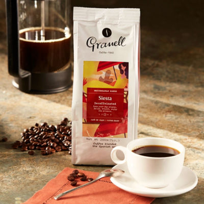 Whole Bean 'Siesta' Decaf Coffee by Granell