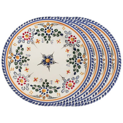 Set of 4 Tapas Plates - 7 Inches each
