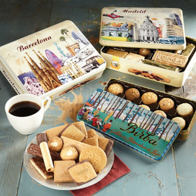Butter Almond Cookies in Gift Tin
