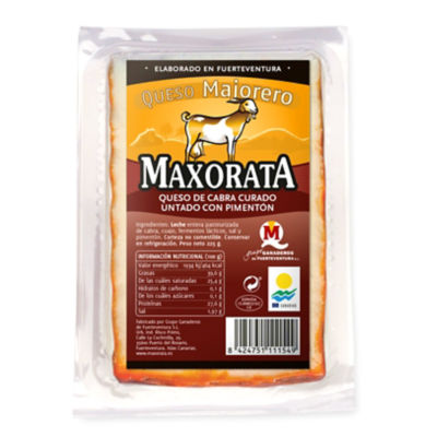Majorero Cured Cheese with Paprika from the Canary Islands - 8 Oz