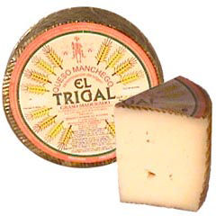 El Trigal Young Manchego Cheese - 2.2 Pounds