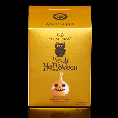 Rabitos Royale Chocolate Fig Bonbons - Halloween Edition (6 Pieces)