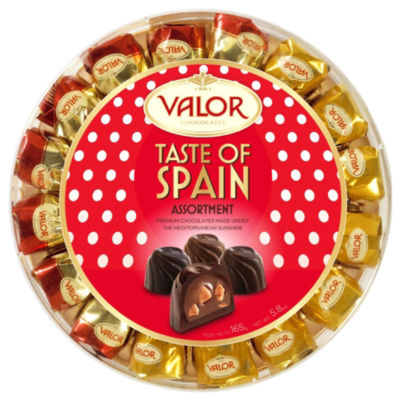 Taste of Spain Chocolate Almond Truffles Gift Box by Valor