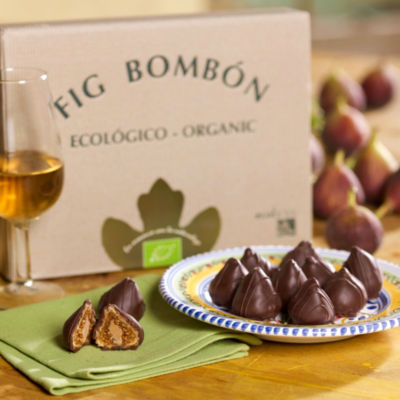 Organic Ecoficus Chocolate Figs (12 Pieces)