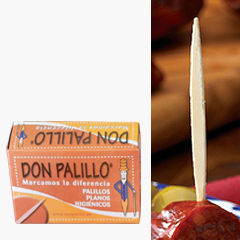 6 Boxes of 'Don Palillo' Flat Spanish Toothpicks