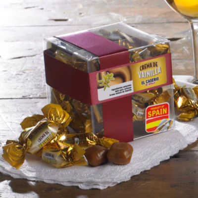 3 Boxes of Crema de Vainilla Caramel Candies by El Caserio