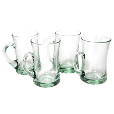 Set of 4 Hand-blown Glasses