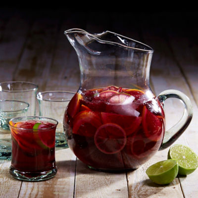 Glass Sangría Set - Pitcher and Glasses