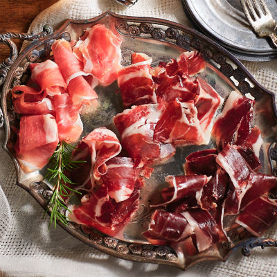 Jamón Tasting Trio of Sliced Ham