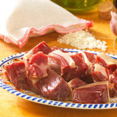 2 Packages of Serrano Ham Pieces for Cooking by Peregrino