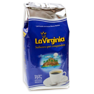 2 Packages of Sugar Roasted Ground Coffee by La Virginia