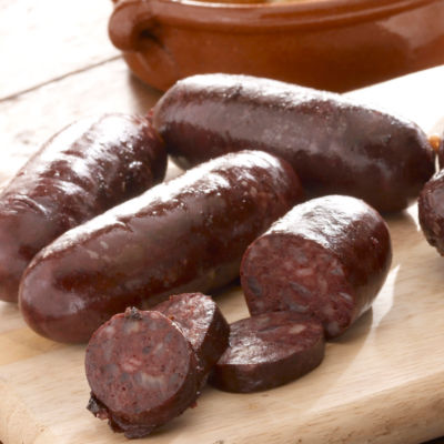 3 Packages of Argentinian Style Morcilla Black Sausage with Onions
