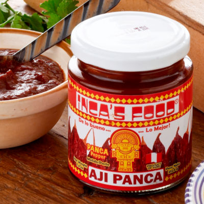 4 Jars of Inca's Food 'Panca' Pepper Paste