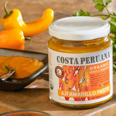 Organic Aji Amarillo Pepper Paste
