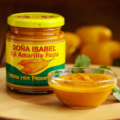 Aji Amarillo Hot Yellow Pepper Paste by Doña Isabel