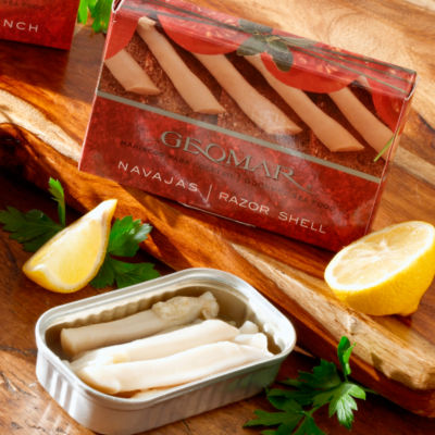2 Tins of Navajas - Gourmet Razor Clams from Chile