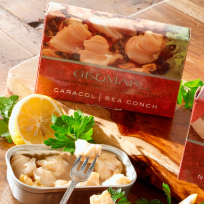 2 Tins of Caracol - Sea Conchs from Chile