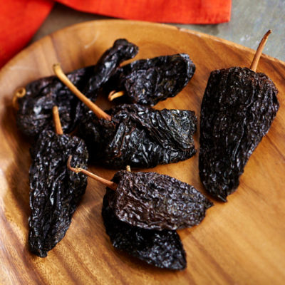 Dried Pasilla Chile Peppers from Mexico