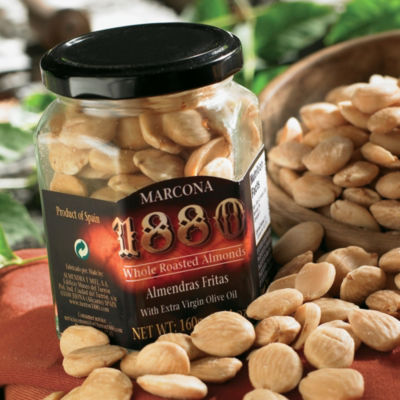 2 Jars of Gourmet Marcona Almonds