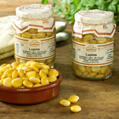 2 Jars of Altramuces - Lupin Beans