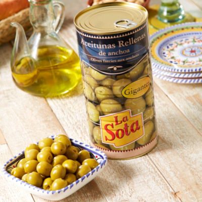 Anchovy Stuffed Olives (Large Tin)