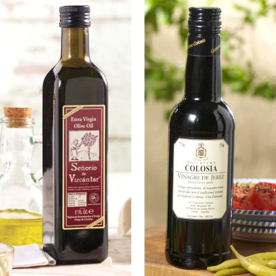 Señorío Olive Oil & Colosia Sherry Vinegar Combo