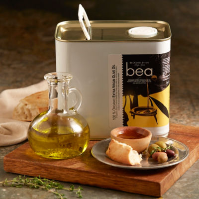 Bea Organic Extra Virgin Olive Oil - 2.5 Liter Tin