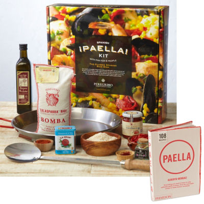 Family Paella Kit with Paella Cookbook by Peregrino