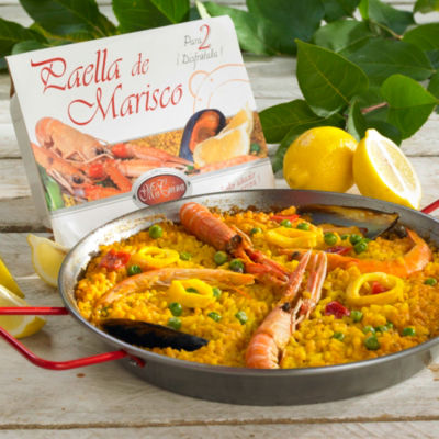 2 Packages of Frozen Authentic Paella de Marisco from Valencia