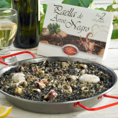 2 Packages of Frozen Authentic Arroz Negro Paella from Valencia
