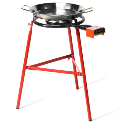 Large Paella Burner, Party Size - For Pans Up to 26 Inches