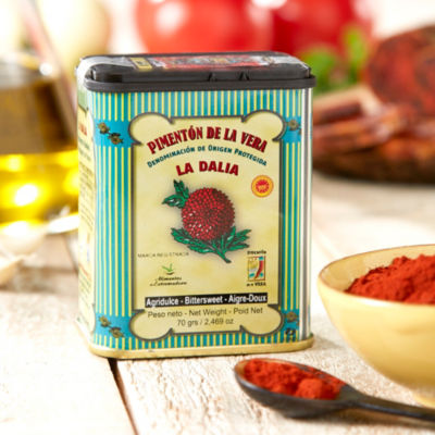 3 Tins of Bittersweet Smoked Paprika by La Dalia