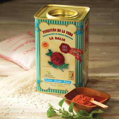 Sweet Smoked Paprika by La Dalia (Extra Large Tin)