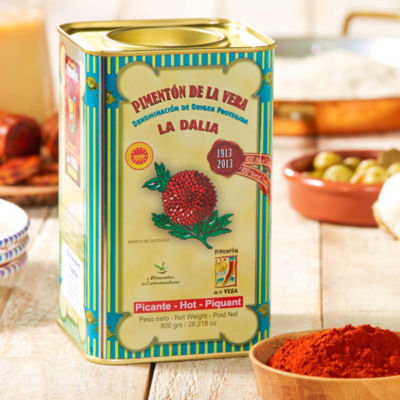 Hot Smoked Paprika by La Dalia (Extra Large Tin)