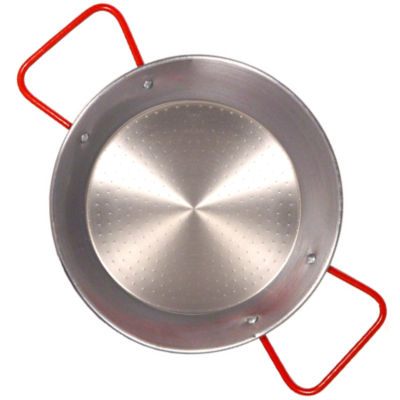 7.75 Inch Traditional Steel Paella Pan