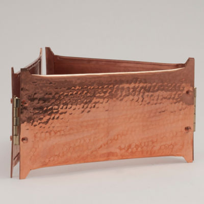 Copper Paella Serving Stand - Hand Hammered