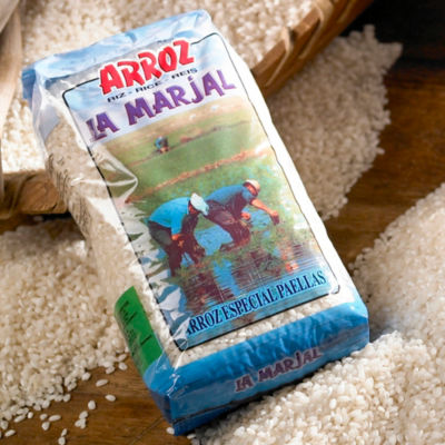3 Packages of La Marjal Paella Rice