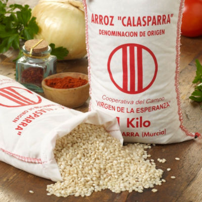 2 Packages of Semi Brown Calasparra Paella Rice