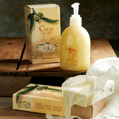 Extra Virgin Olive Oil Luxury Bath Set