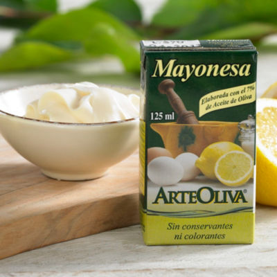 6 Packages of Mayonesa with Extra Virgin Olive Oil by Arteoliva