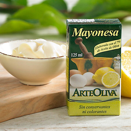 3 Packages of Mayonesa with Extra Virgin Olive Oil by Arteoliva
