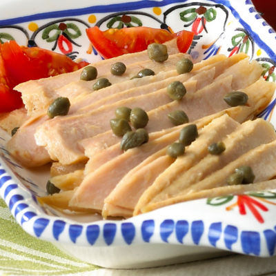 Ventresca Tuna - Belly Fillets in Olive Oil by Serrats