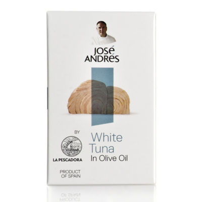 White Tuna in Olive Oil by José Andrés Foods - 4.05 Ounce Tin
