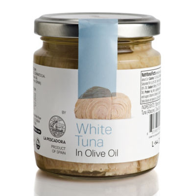 White Tuna in Olive Oil by José Andrés Foods - 5.29 Ounce Jar